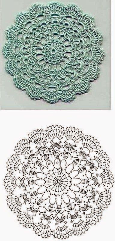 Rosa acessórios em tricô & crochê: Gráficos lindos