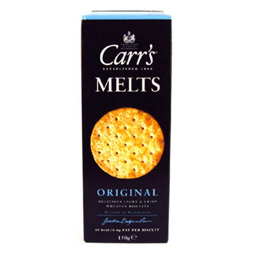 comes without saying, where there's cheese there's Carr's!