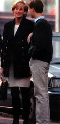 Princess Diana with Prince William
