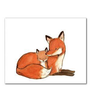 baby mine fox print - Google Search