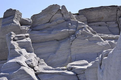 Thassos. Aliki: White marble quarries | Flickr - Photo Sharing!