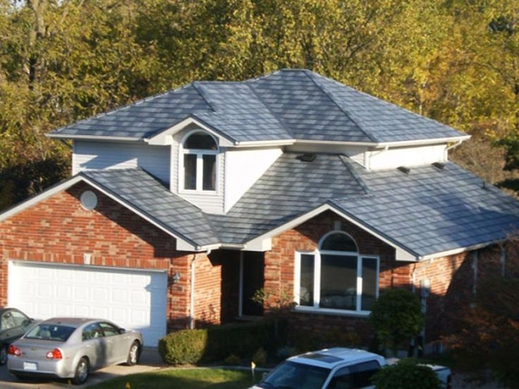 Beautiful Metal Roofs   Arrowline Roofing   Steel Shingles   EDCO Metal  Roofing Products