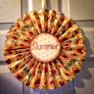 LimeGreenShoe: summer pinwheel decorationPinwheels Decor, Summer Pinwheels