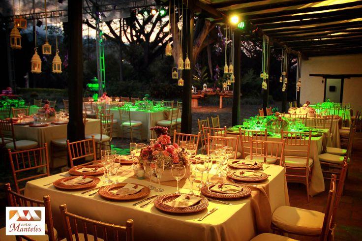 Boda Vinatge Campestre, Decoración de Bodas en Cali, Tendencias de Bodas, Entremanteles www.entremanteles.com