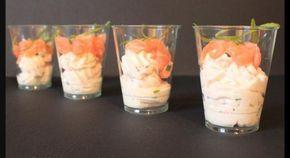 Recette - Verrine mascarpone saumon - Proposée par 750 grammes