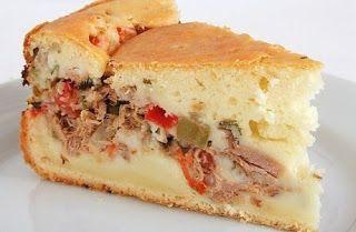 RECEITAS DIET-ABAD: TORTA DE ATUM DE LIQUIFICADOR