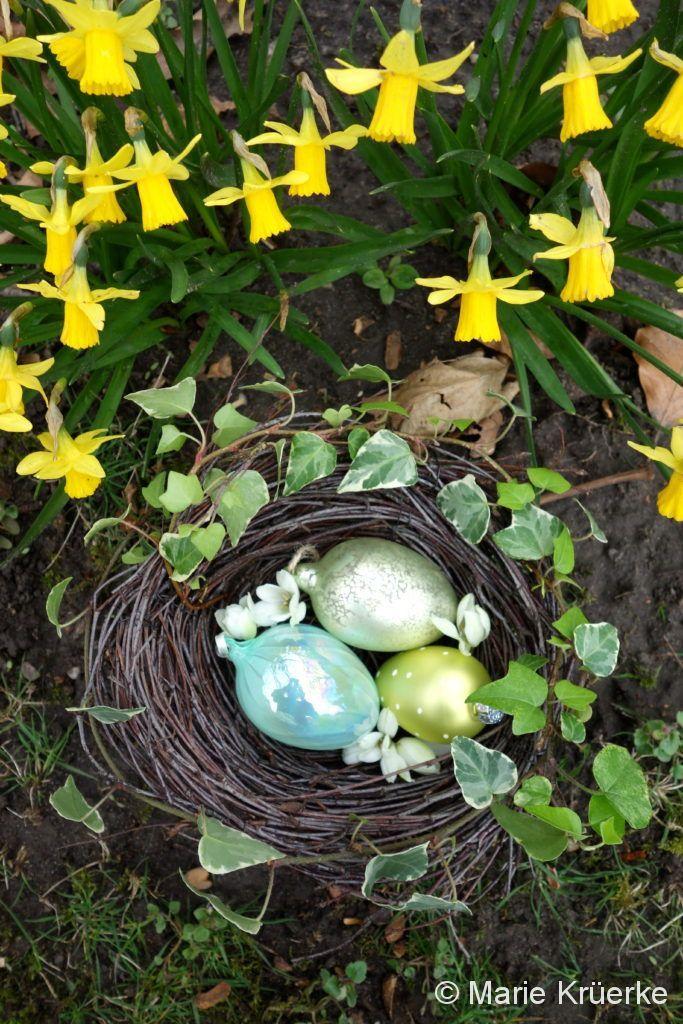 Anleitung für ein dekoratives Nest aus Zweigen | wisper wisper