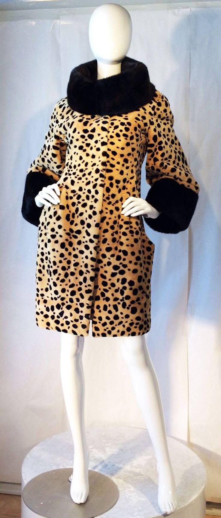 Catherine Malandrino Couture Sheared Mink Coat 2