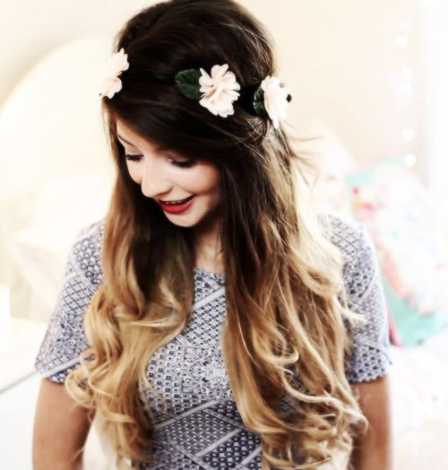 Zoella's hair!!!!!!! I want to get mine done like this is bad!