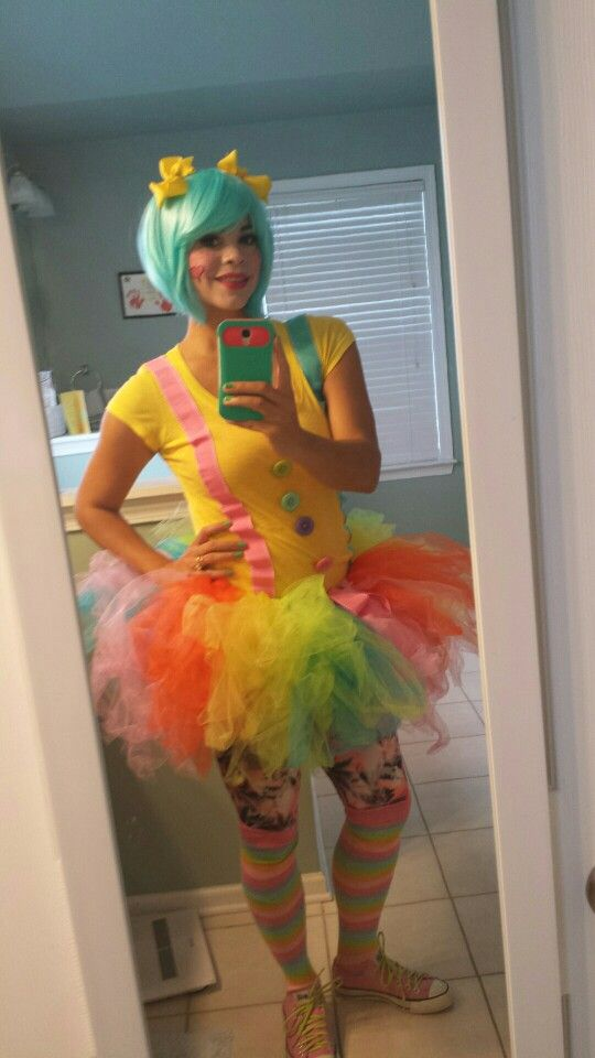 Cute clown outfit