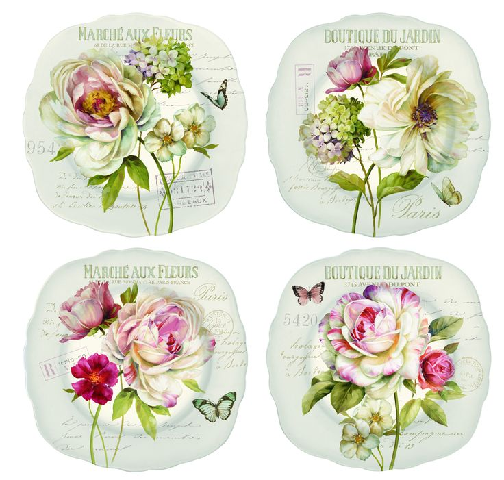 Zestaw talerzy z porcelany Nuova R2S - DECO Salon || #tableware #plates #china #porcelain
