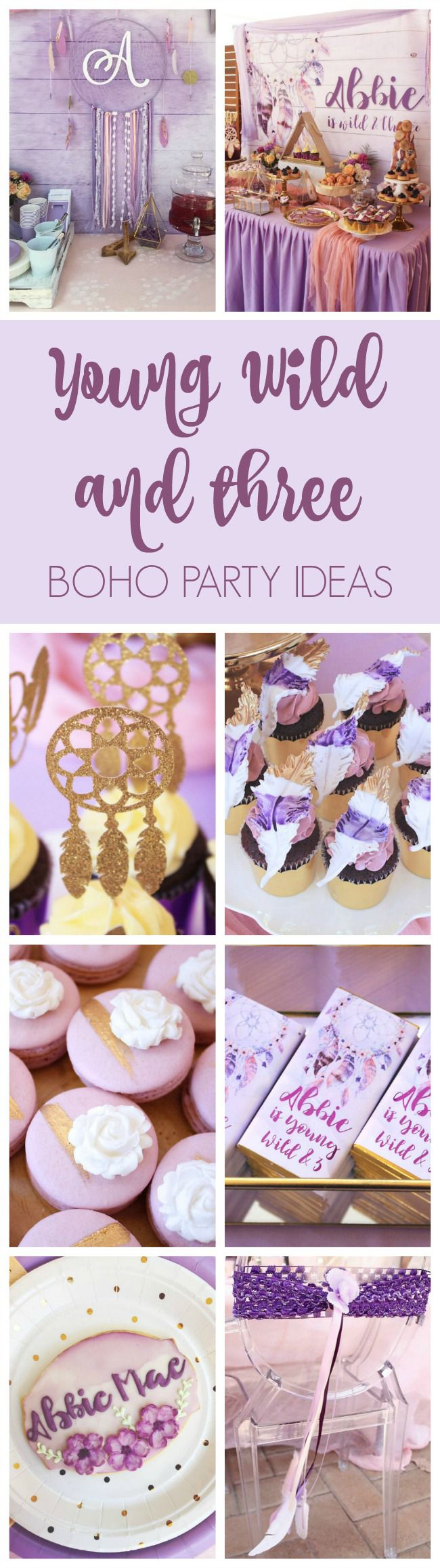 Boho Wild and Three Birthday Party | Pretty My Party