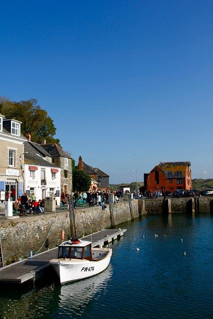 Padstow, home to Rick Stein.