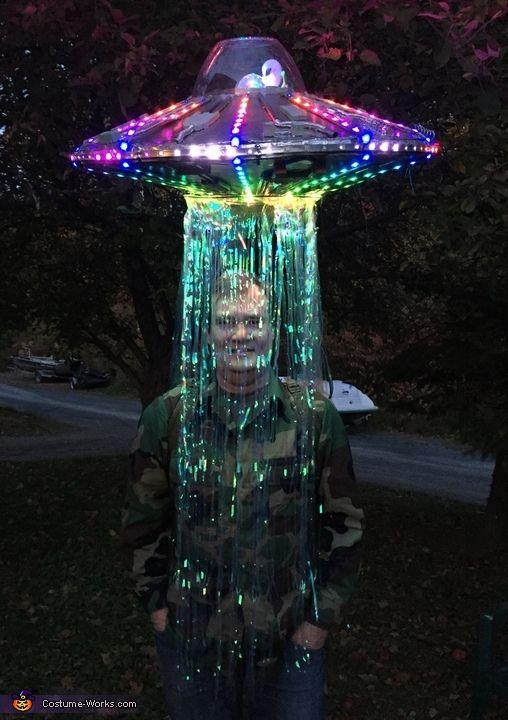 Alien Abduction DIY Halloween Costume