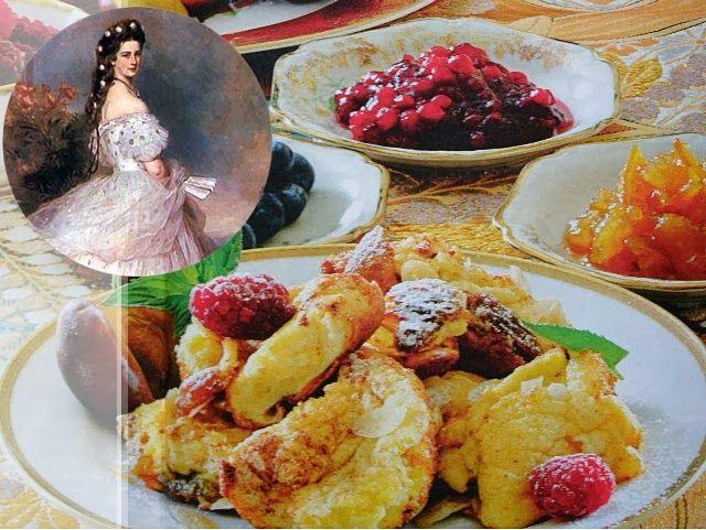 Babcia radzi coś...: Słodki omlet cesarzowej Sisi (Sissi)