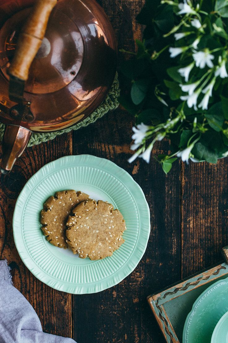 Brown Butter Sesame Cookies by Kelly Neil for Baked - the blog.