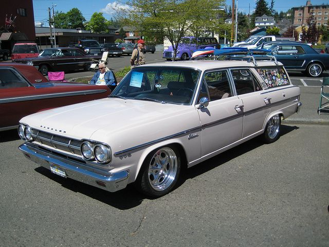 1965 Rambler 770 Cross Country Flying Low