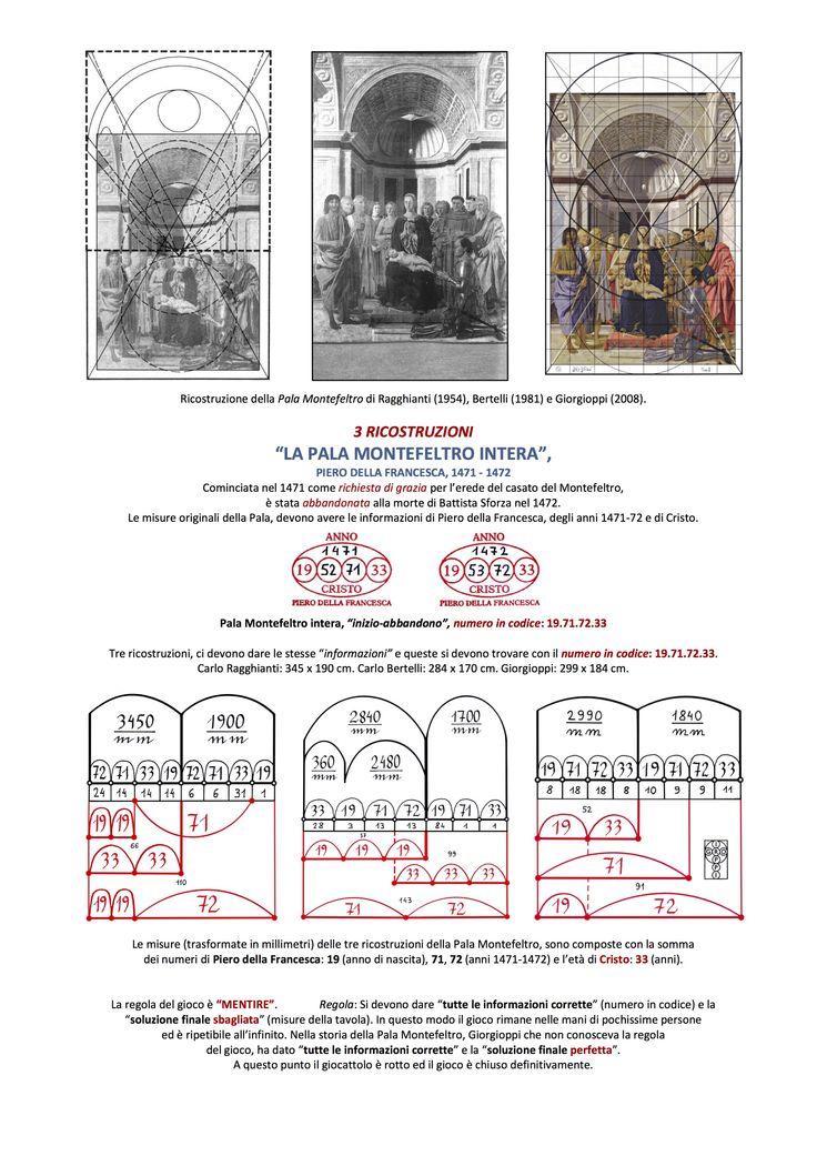 Pala di Brera, Piero della Francesca, 3 ricostruzioni: Ragghianti, Bertelli, Giorgioppi