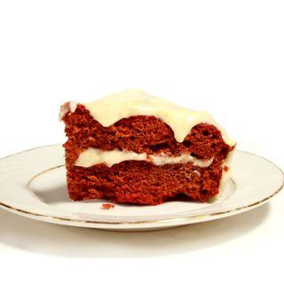 Valentines Day A slice of Red Velvet Cake
