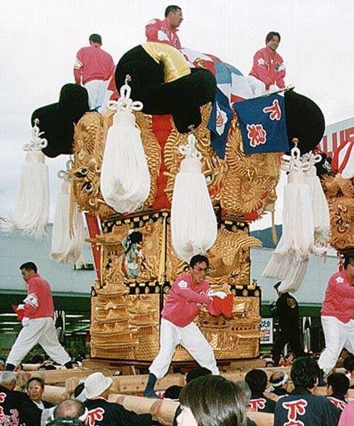 日本三大喧嘩祭り~新居浜太鼓祭り