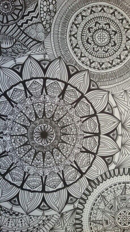 Pin By Chandru On Architecture: Doodle Patterns, Art, Mandala