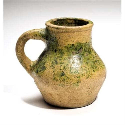 Medieval Pottery Vessel England. Ca 14th Century