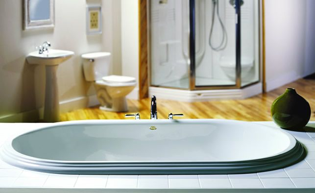 17 Best Images About Deep Soaking Tubs On Pinterest