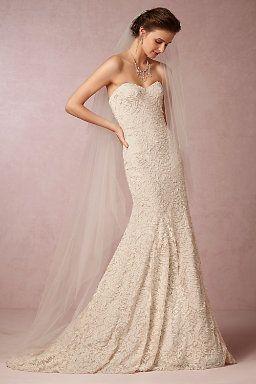 Strapless Wedding Dresses | Strapless Wedding Gown Styles | BHLDN