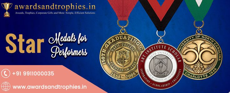 Star Medals For Star Performances.  only on