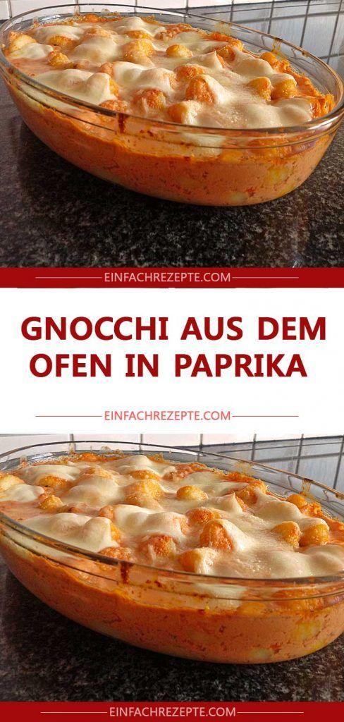 Gnocchi aus dem Ofen in Paprika 😍 😍 😍