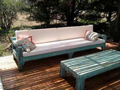 Las 25 mejores ideas sobre sillones rusticos en pinterest for Sillones de patio de madera