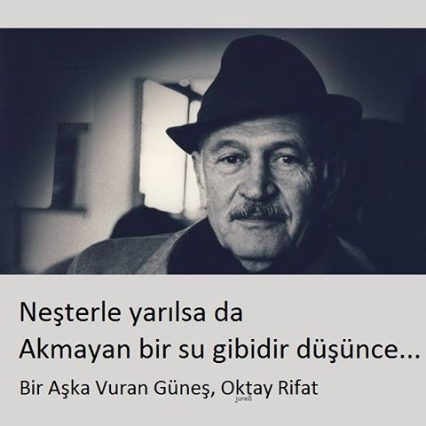 * Oktay Rifat