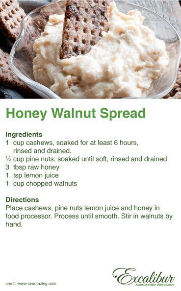 Walnut Spread for #Hazelnut Fig Crackers with Sage & Black Pepper ...