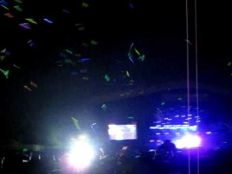 Phish - Bonnaroo 2009 - Punch You in the Eye (this was the glowstick war that was going on. The sky looked so wild with thousands of glowsticks being thrown)