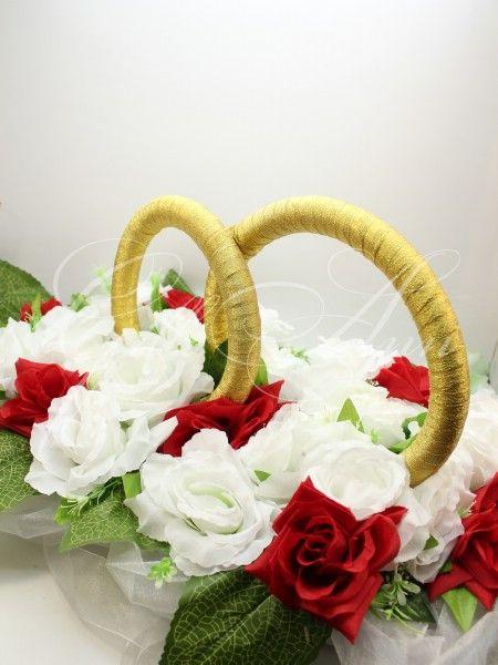 Свадебные кольца на машину Gilliann красные и белые розы CAR021, http://www.wedstyle.su/katalog/katalog/ukrashenija-na-mashinu/kolca-na-mashinu/svadebnye-kolca-na-mashinu-gilliann, http://www.wedstyle.su/katalog/katalog/ukrashenija-na-mashinu/kolca-na-mashinu, wedding car decoration, decoration on the car