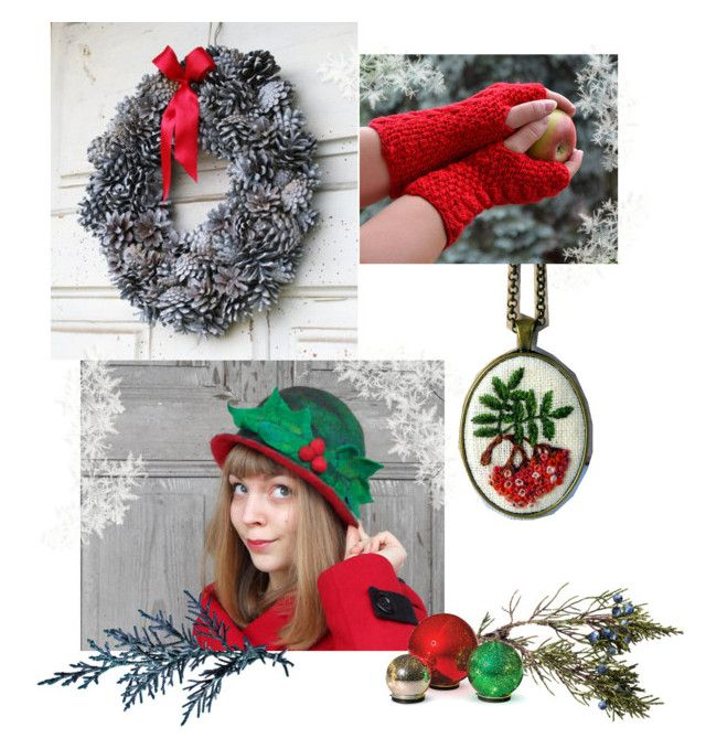 """""""Winter is coming"""" by landoflaces on Polyvore featuring moda, Improvements, Winter, Christmas, handmade i poletsy"""