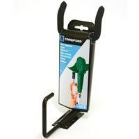 Crawford CMPE-6 Medium Duty Garden Power Tool Hanger, Black by Crawford. $8.42. Organize drills, trimmers and sanders with the Crawford CMPE-6 Power Tool Hanger. The unit mounts easily to wall studs and is designed to hold up to 30-pounds (designed for lawn trimmers and the bottom hook is for the electrical cord). This unit is made of carbon steel and the hook is protected with a soft coating that won't scratch your tools. No more lowering your tools to the floor or di...