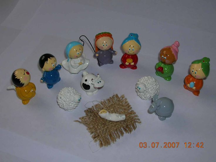 nativity set 12 pieces