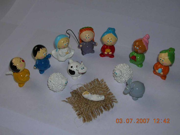 nativity set 12 pieces