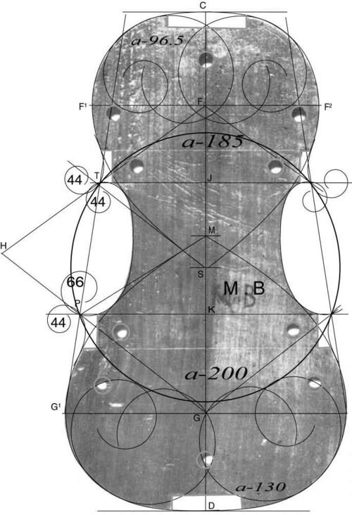 The Art Of The Violin Design.