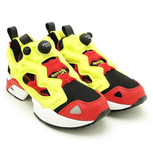 1f489c357175 reebok insta pump fury yellow red black cheap   OFF43% The Largest ...