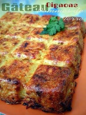 Pourquoi se priver quand c'est bon et léger?: Gâteau de pommes de terre aux oignons allégé (4.5 ...