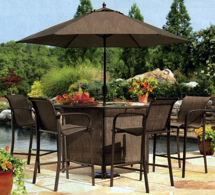Nice Choosing The Best Outdoor Patio Set With Umbrella For Your Home    Googletag.cmd.