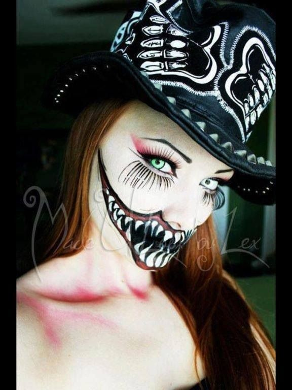Evil Clown Woman | Halloween Costumes | Pinterest | Sky Beauty And Clown Faces