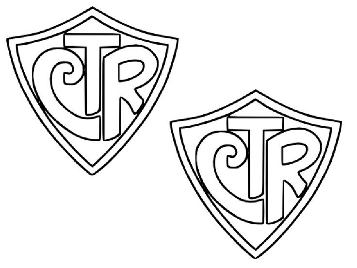 Ctr Shield Coloring Pages In 2020 Ctr Shield Ctr Shield Printable Ctr Shield Clip Art