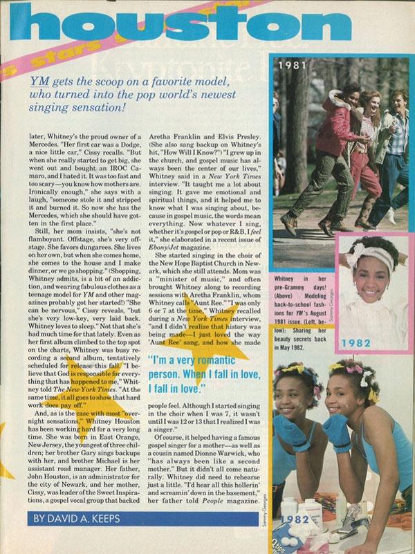 Wonderful Whitney: Remembering Whitney Houston | Wedding Planning, Ideas & Etiquette | Bridal Guide Magazine