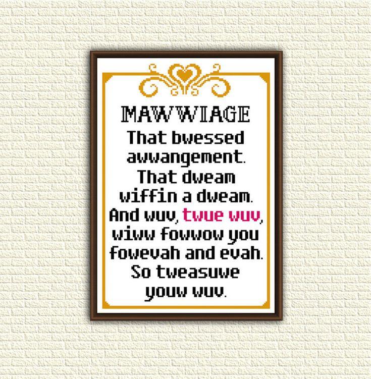 Princess Bride Wedding Quote: Best 25+ Cross Stitch Quotes Ideas On Pinterest
