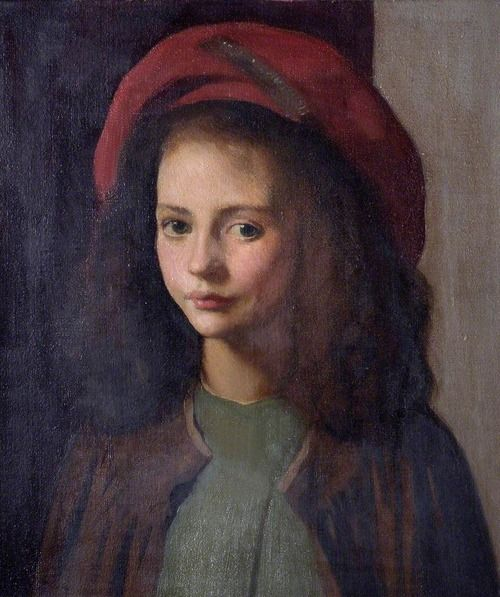 George Clausen - The Red Hat