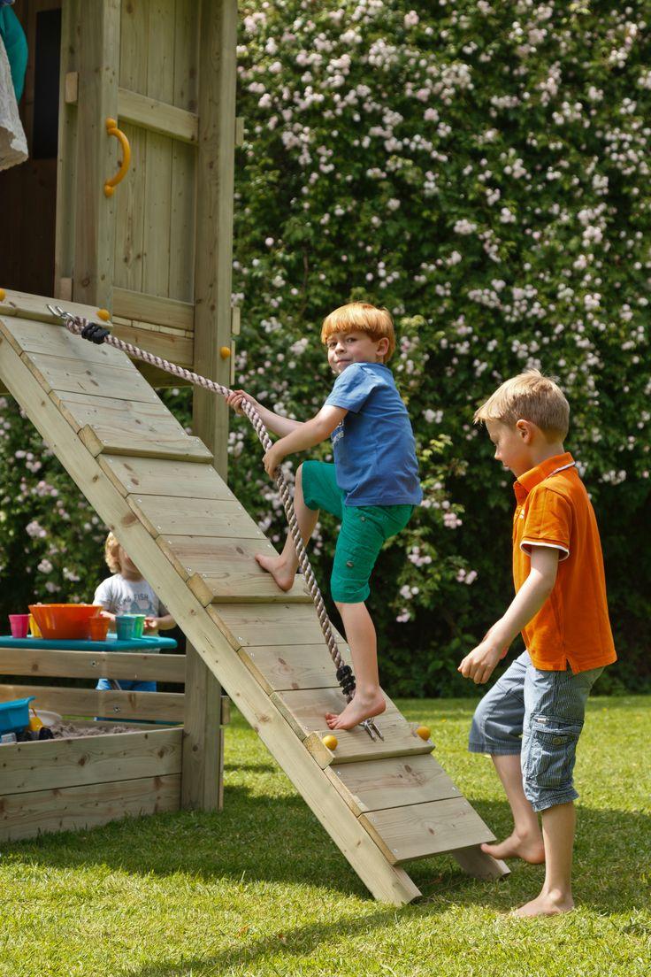 Spielturm Beach Hut Mit Rutsche Rampe Mit Seil In 2020 Spielturm Spielturm Mit Rutsche Wellenrutsche