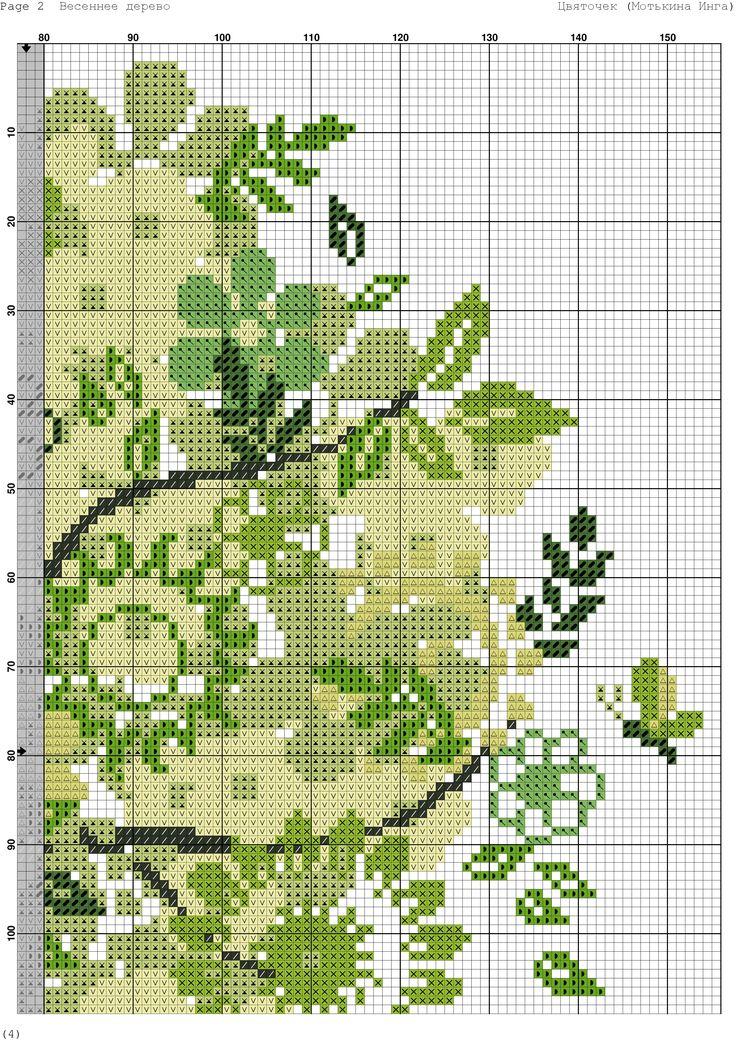 весеннее дерево 3